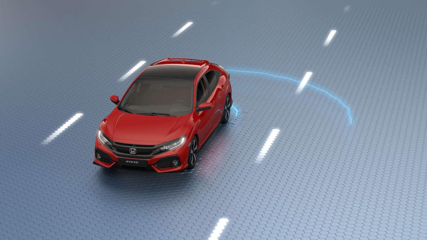 Visita virtual del Civic 5 puertas.
