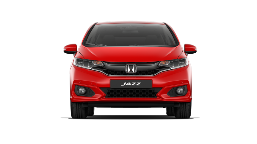 Vista frontal del Honda Jazz Dynamic.