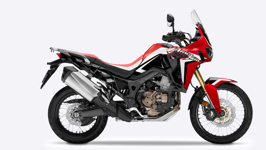 Africa Twin - vista lateral