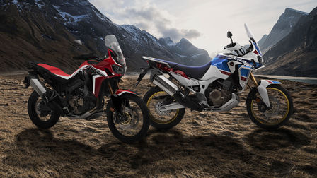 Africa Twin y Africa Twin Adventure Sports 2019