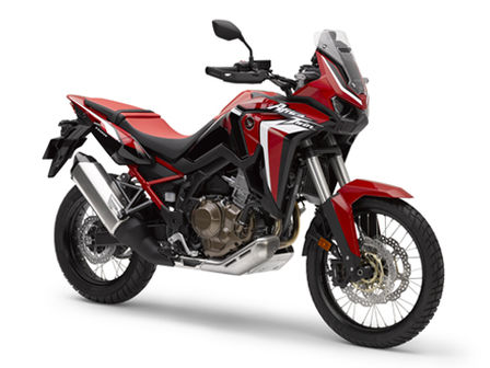 Honda Africa Twin, lateral derecho