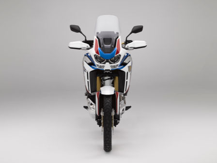 Honda Africa Twin Adventure Sports, vista frontal