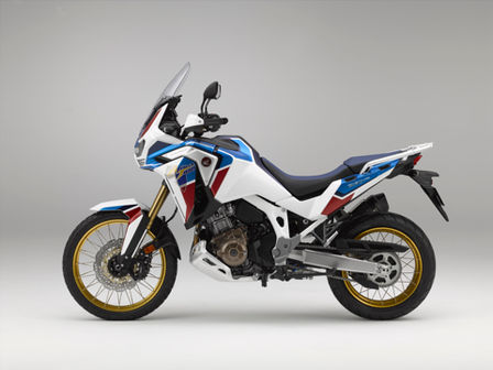 Honda Africa Twin Adventure Sports, lateral izquierdo
