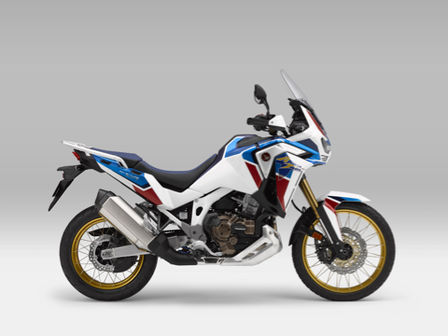 Honda Africa Twin Adventure Sports, lateral derecho