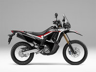 CRF250 Rally Black lateral derecho