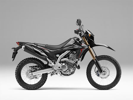 CRF250L Black lateral derecho