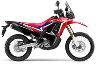 CRF250 Rally lateral derecho