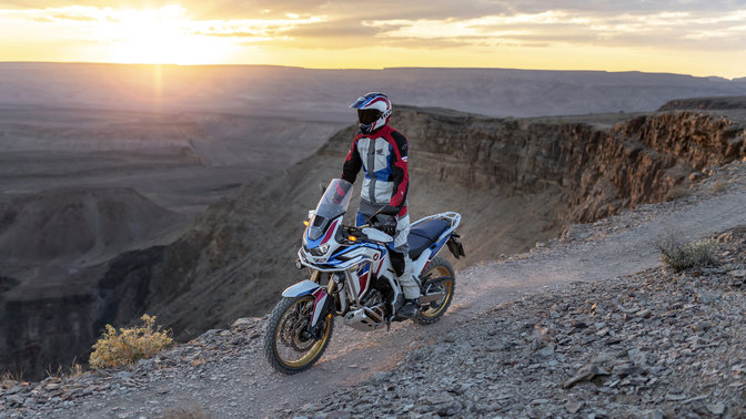 Honda CRF1100L Africa Twin Adventure Sports.