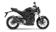 Honda CB300R negra