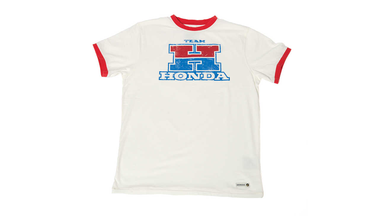 Camiseta Team Honda en color blanco