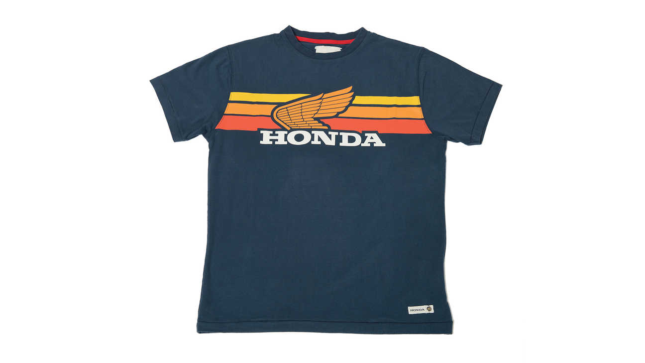 Camiseta Honda sunset