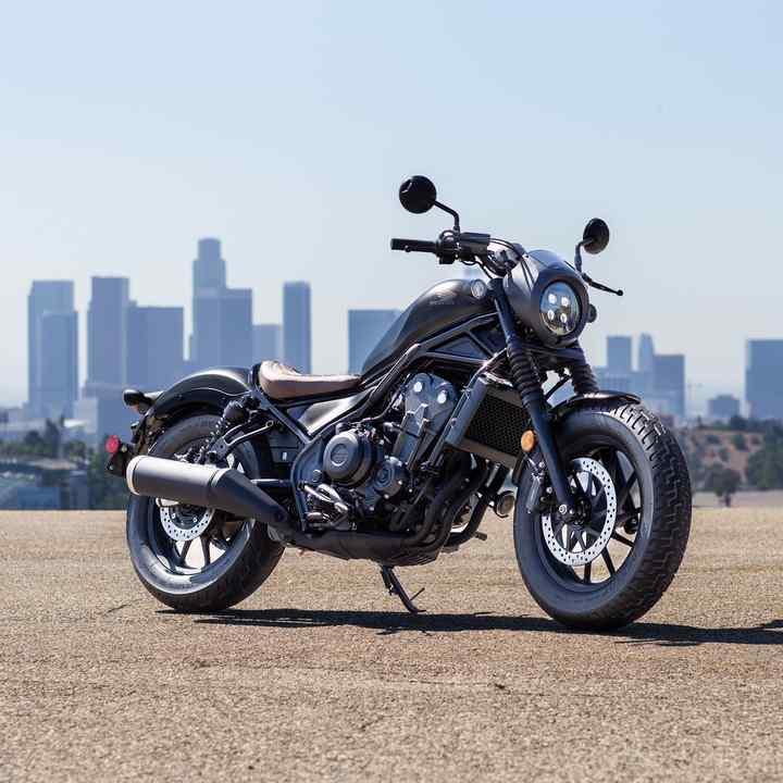 Descripción Cmx500 Rebel Street Motocicletas Honda