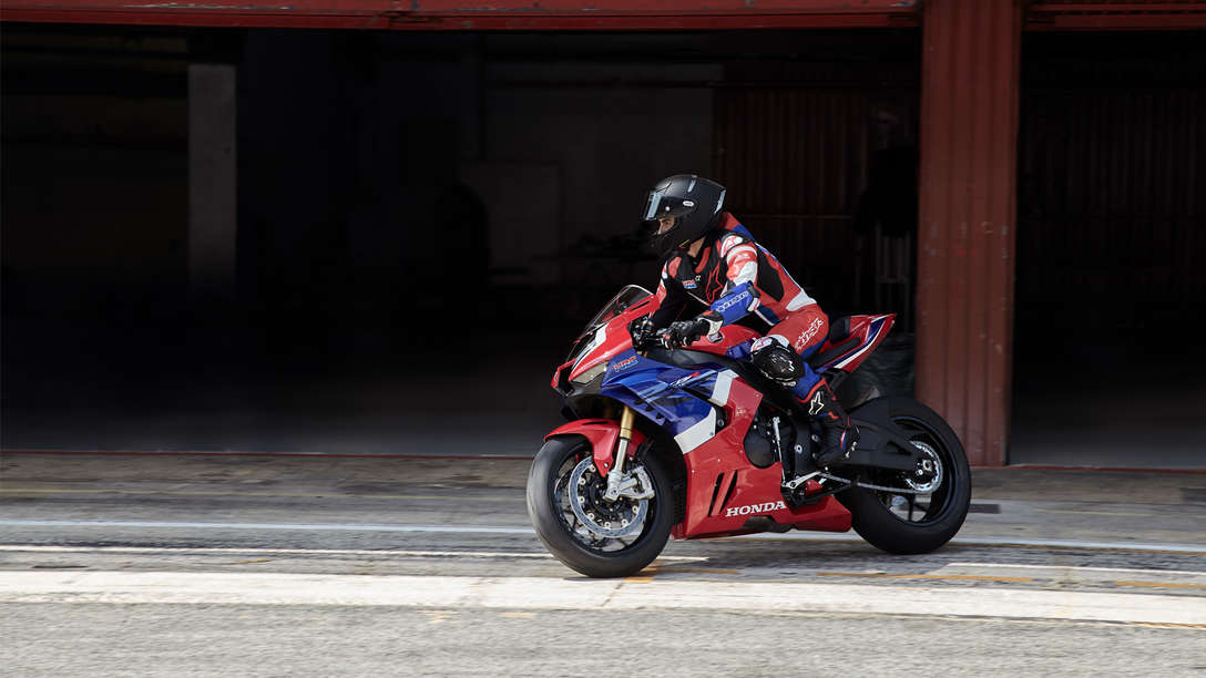 Marc Marquez rides the 2020 Honda CBR1000RR-R SP