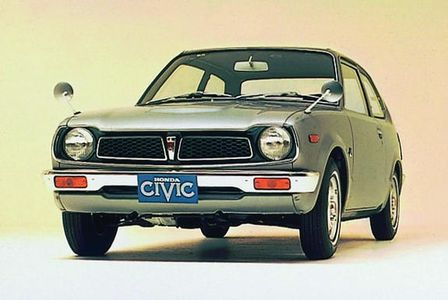 Honda Civic modelo antiguo