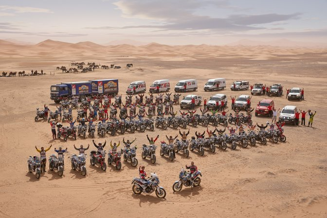 honda epic tour Africa Twin Marruecos