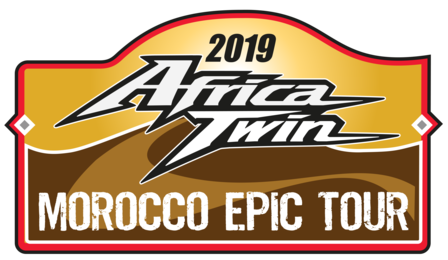 logo Africa Twin 2019 Epic Tour Marruecos