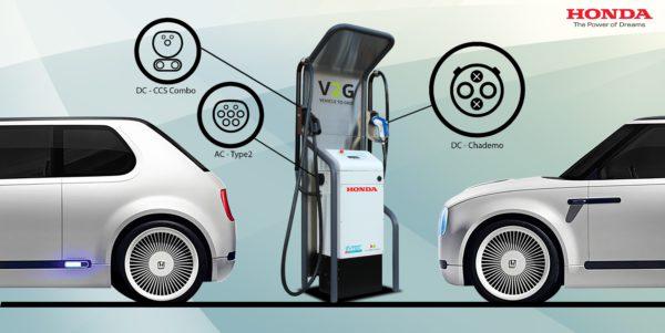 estación de carga pública de vehículos eléctricos más avanzada de Europa en la sede de Honda R&D en Offenbach