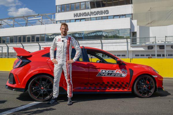 627 - ¡Reto conseguido! Jenson Button completa el Type R Challenge 2018 en Hungaroring