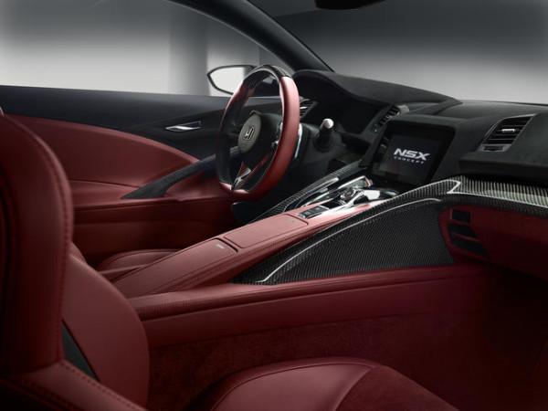 Detalle interior NSX Concept II