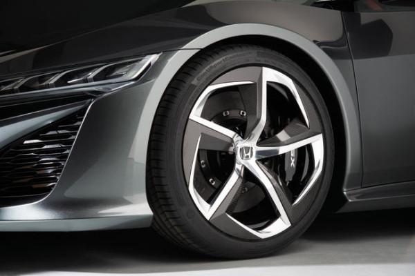 Detalle exterior Honda NSX Concept II