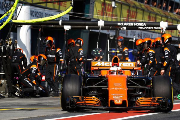 470 - F1 Australia Alonso Vandoorne