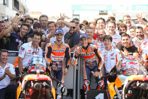 Honda, Repsol Honda, Gran Premio de Aragón, MotoGP, GP Aragón, Marc Márquez, Dani Pedrosa