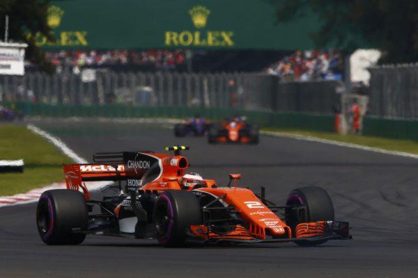 Fernando Alonso Stoffel Vandoorne McLaren Honda F1