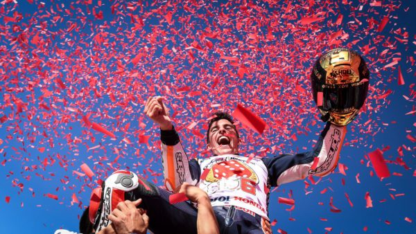 548 - Marc Márquez revalida el título de Campeón del Mundo de MotoGP - portada