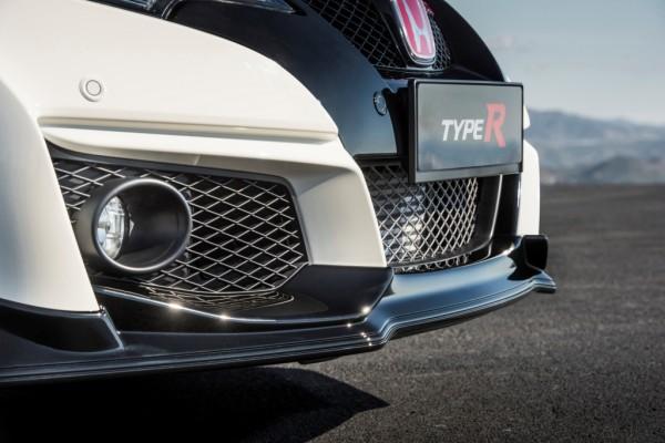 Detalle frontal Honda Civic Type R