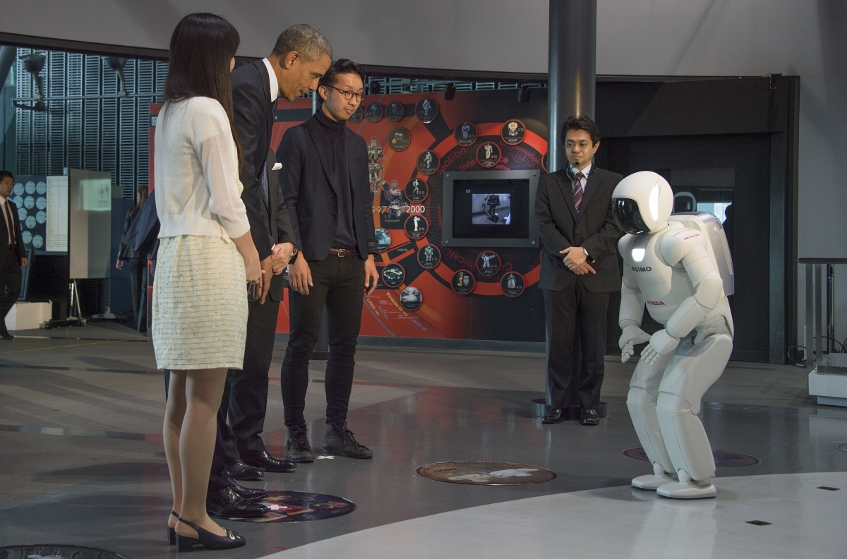 ASIMO Obama 1