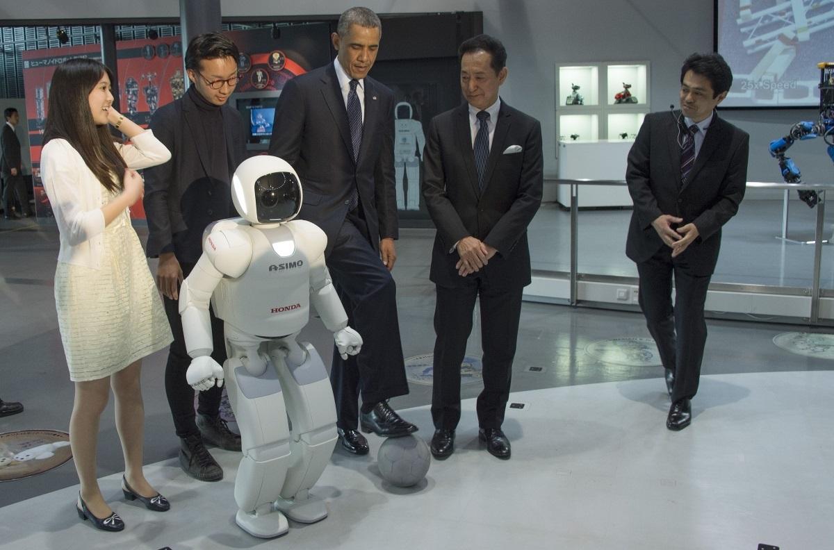ASIMO Obama 2