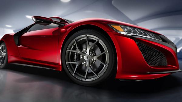 Con un reluciente y característico acabado rojo NSX, el esperado superdeportivo se ha presentado en la NAIAS 2015