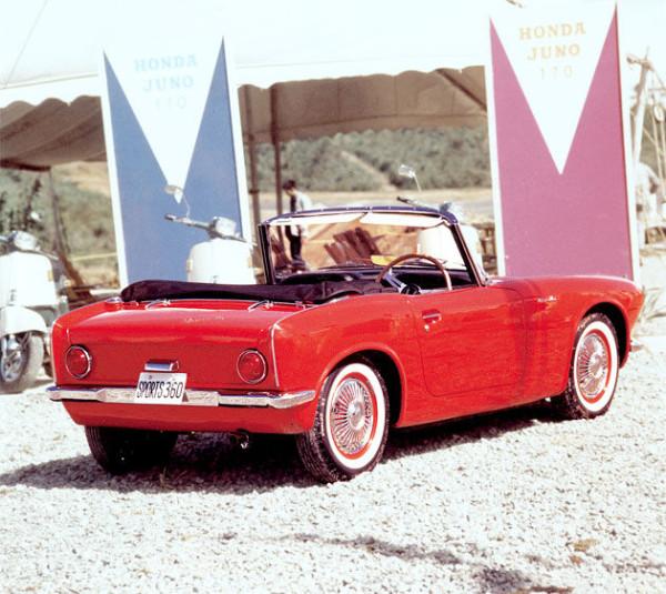 El deportivo Honda S360, junio de 1962