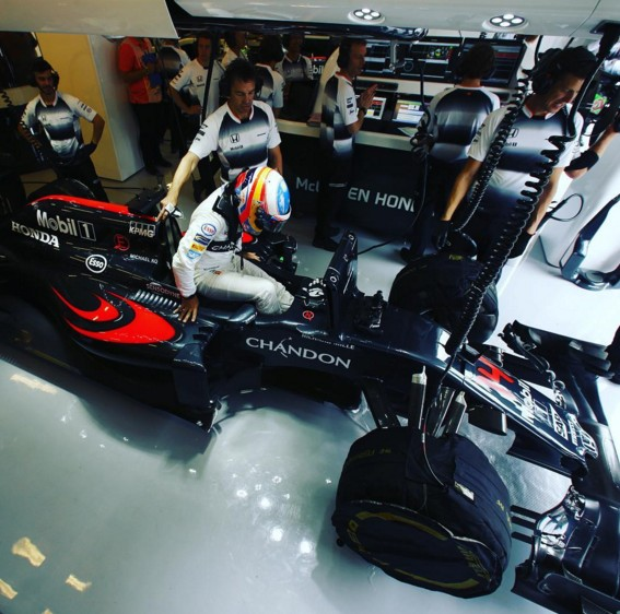 Fernando Alonso Gran Premio Hungria 2
