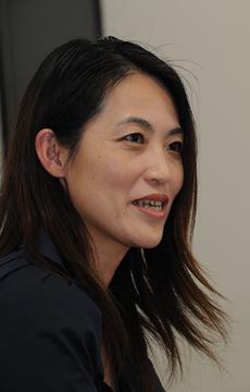 La periodista Yumi Kawabata