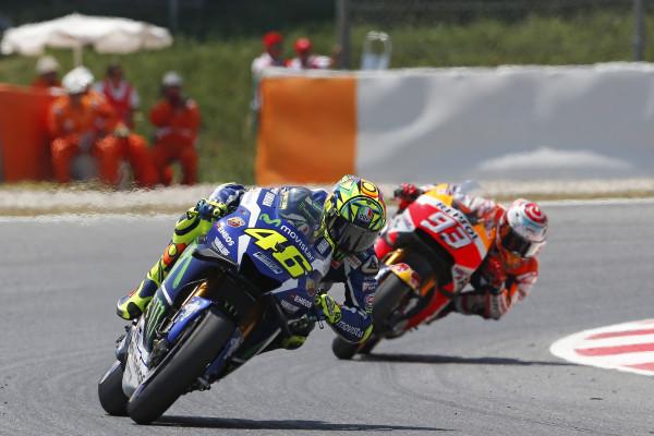 Marc Márquez Valentino Rossi GP Catalunya
