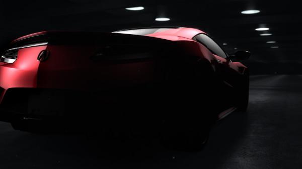 Primeras imágenes del Acura NSX
