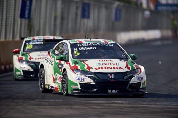 Norbert Michelisz WTCC Marruecos