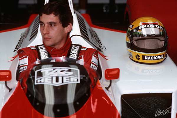 Ayrton Senna en 1988