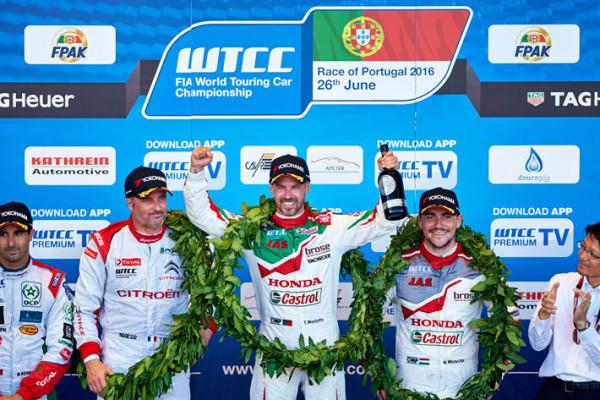 Tiago Monteiro Honda WTCC