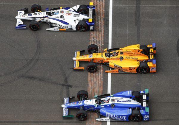 Fernando Alonso IndyCar Honda Indy500