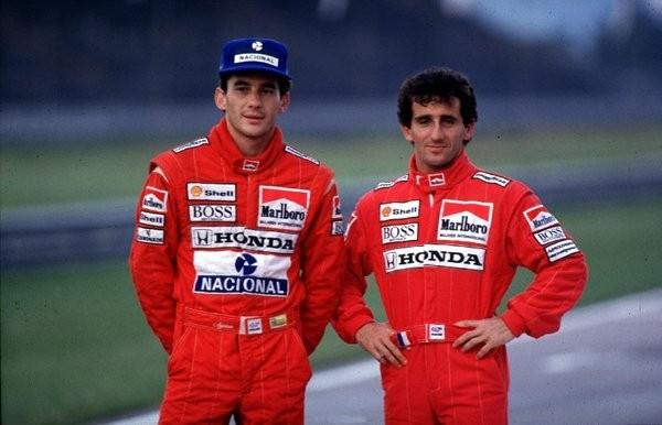 Compañeros y rivales. Alain Prost y Ayrton Senna fueron dos de los más grandes pilotos de la F1