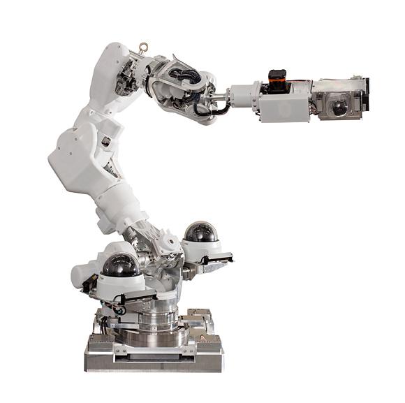 Robot de inspección en zonas elevadas desarrollado por Honda en colaboración por el AIST y TEPCO.