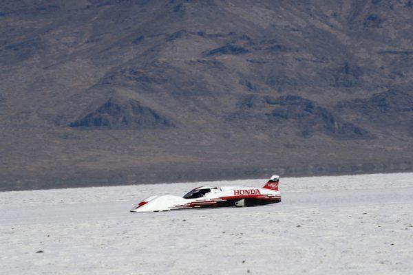 Bonneville fue el paraje elegido para la prueba de la FIA